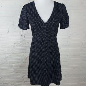 {Emory Park} Black Polka Dot Dress